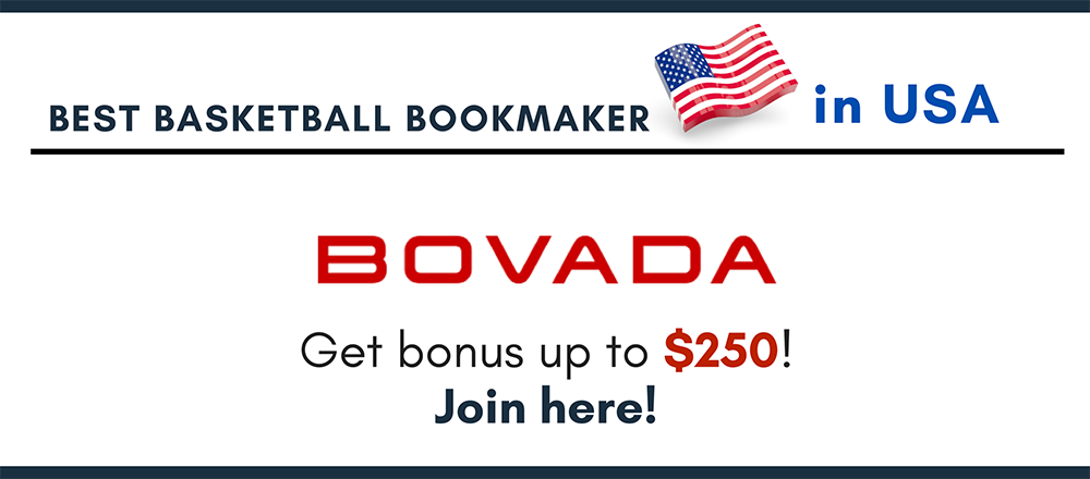 Best basketball bookmaker Bovada