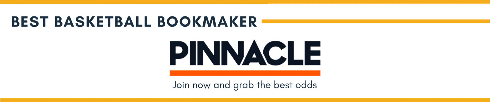 Best basketball bookmaker Pinnacle