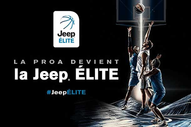 French basketball begins with the LNB Pro A - also known as Pro A or Jeep Élite
