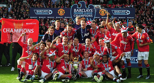 Manchester United Winning Premier League