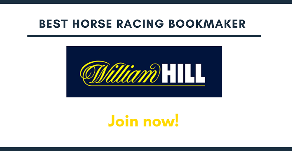 Best horse racing bookmaker WilliamHill