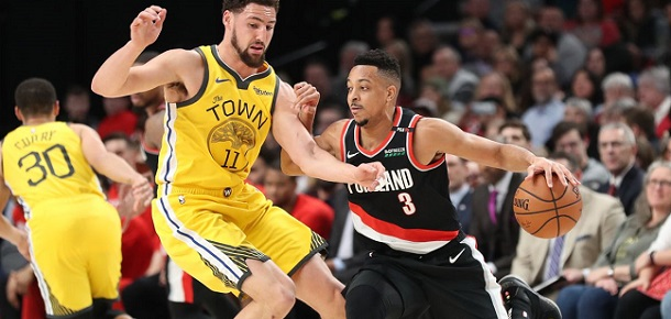 NBA Portland Trail Blazers vs Golden State Warriors Game 1 Preview and Prediction