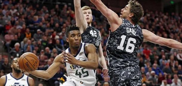 NBA Utah Jazz vs San Antonio Spurs Spread and Prediction