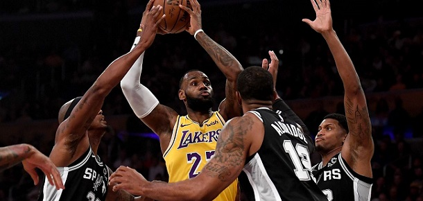 NBA San Antonio Spurs vs Los Angeles Lakers Preview and Prediction