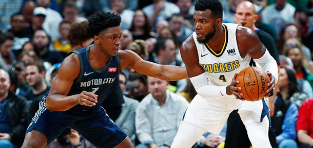 NBA Detroit Pistons vs Denver Nuggets Preview and Prediction