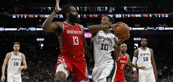 NBA San Antonio Spurs vs Houston Rockets Preview and Prediction