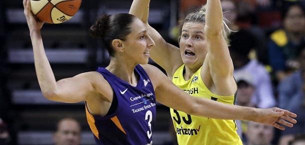 WNBA Phoenix Mercury vs Seattle Storm Preview and Prediction